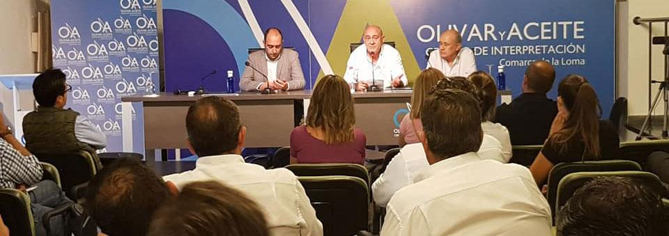 El Ayuntamiento de Úbeda se reúne con los expositores de la Feria de la Maquinaria Agrícola para recoger sugerencias y mejorar el evento