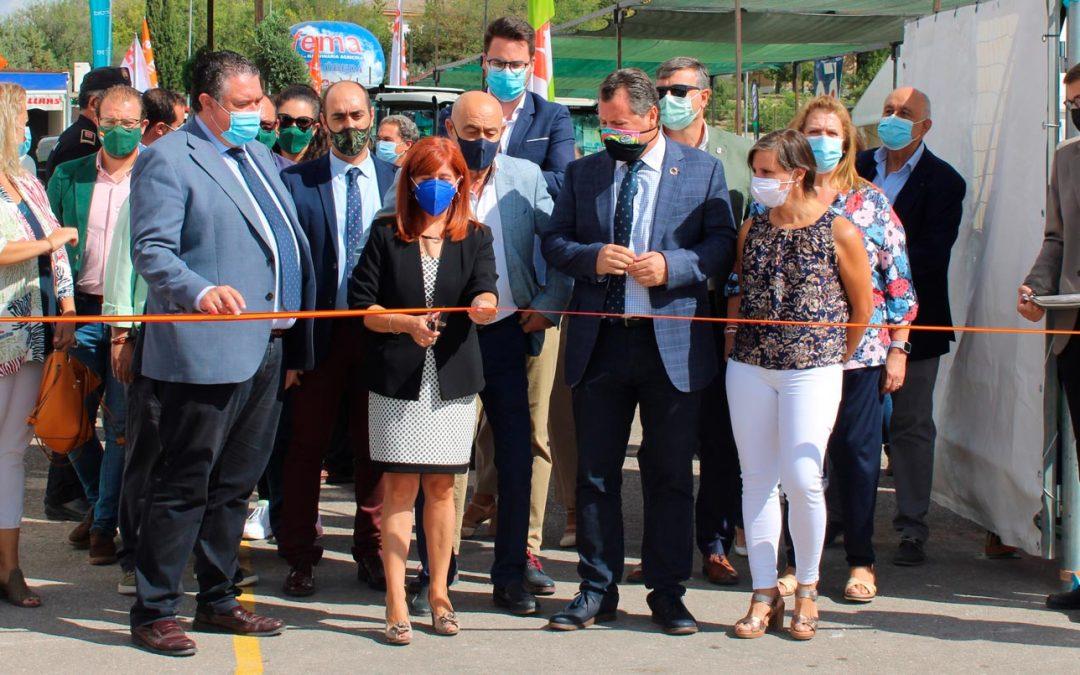 Inauguración de la 39 edición de la Feria de Maquinaria Agrícola de Úbeda 2021